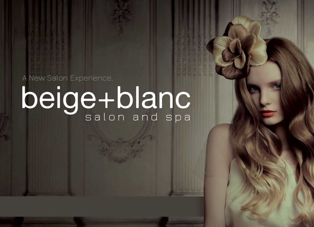 Beige & Blanc postcard design by Jay Clue