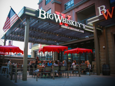 Patio at Big Whiskey's American Restaurant Franchise