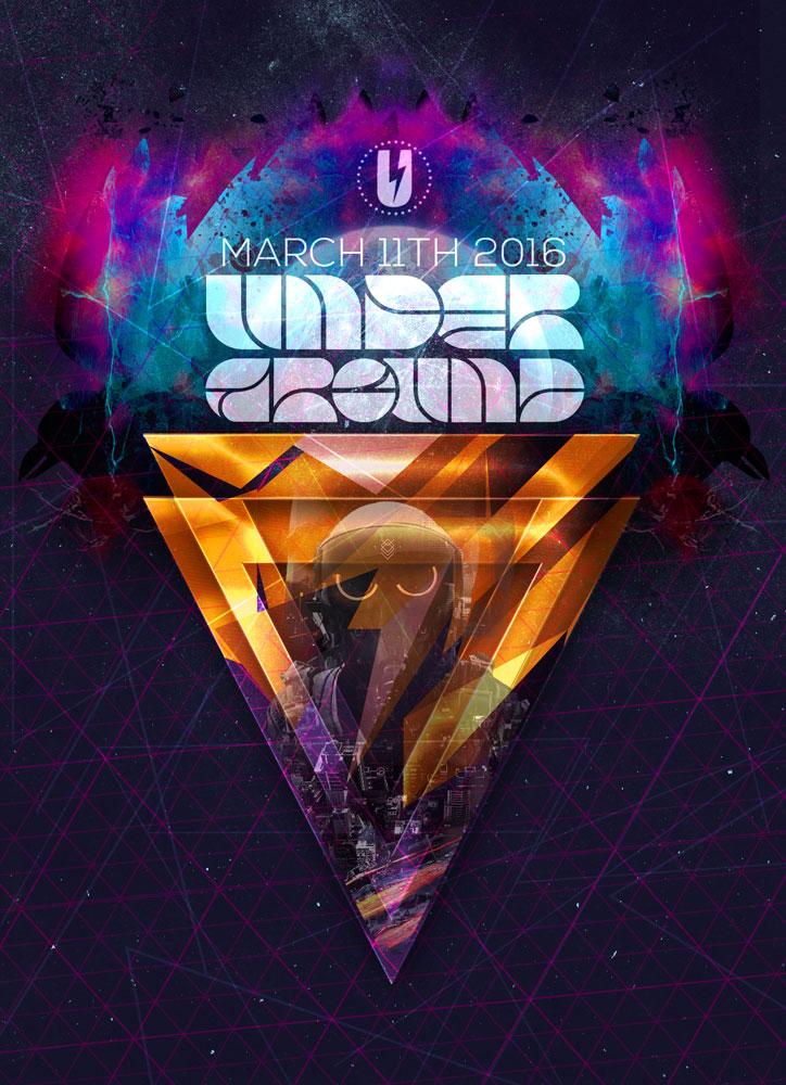 Underground flyer design