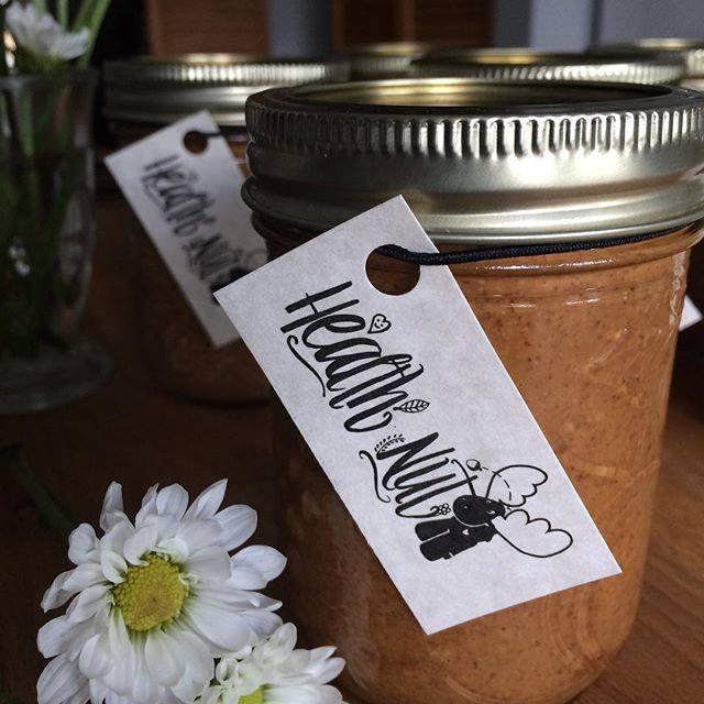 Health Nut logo design - Jar