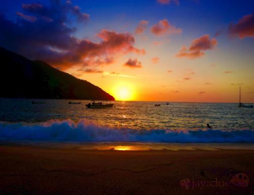 Sunset at Yelapa