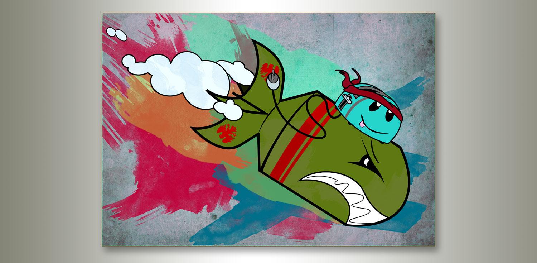 Joyride Artwork by Jay Clue