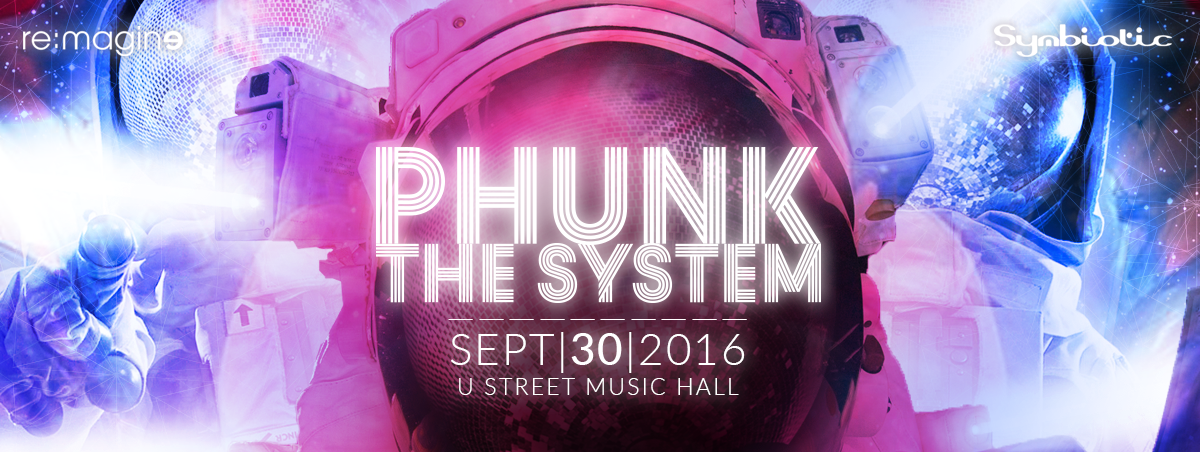 Phunk the System 2016 - Design by Jay Clue