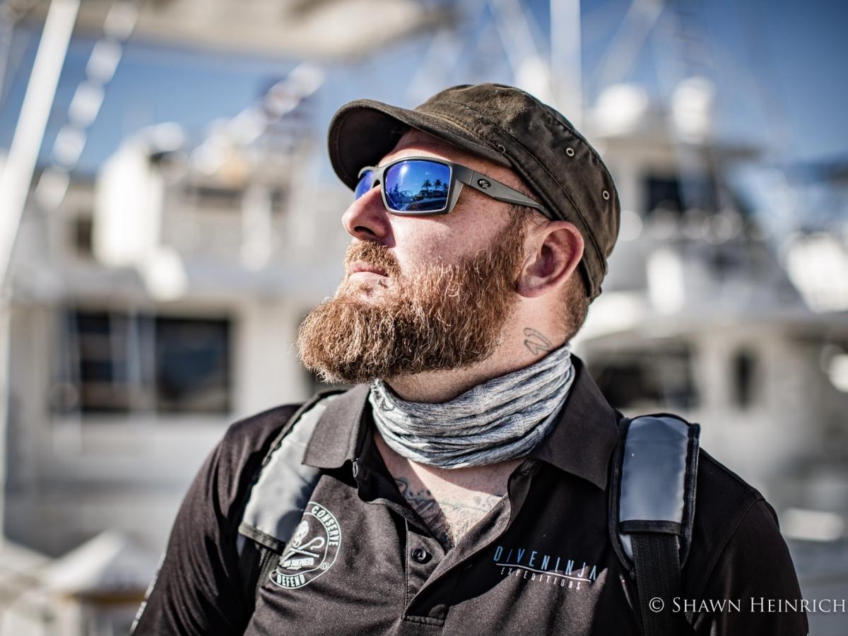Conservationist, Jay Clue. Photo by Shawn Heinrichs